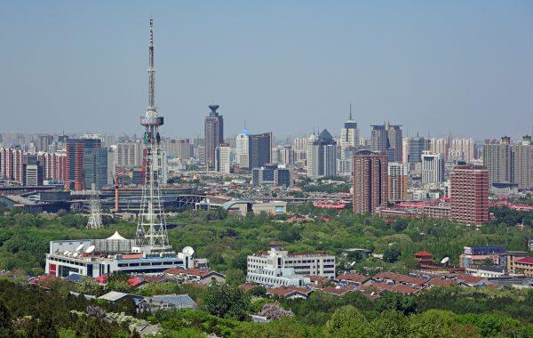 Blick auf Jinan