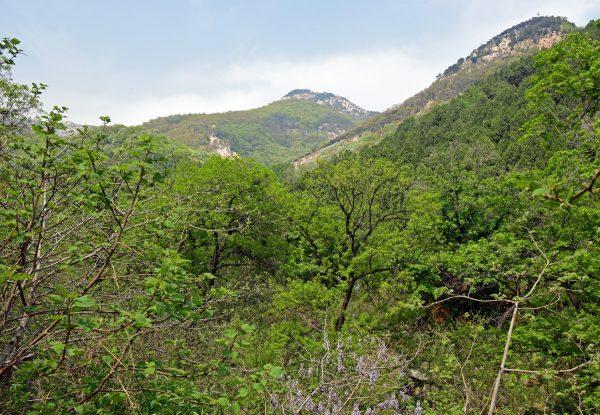 Auf dem Weg zum Mount Tai