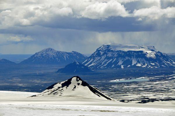 Der Langjökull Gletscher