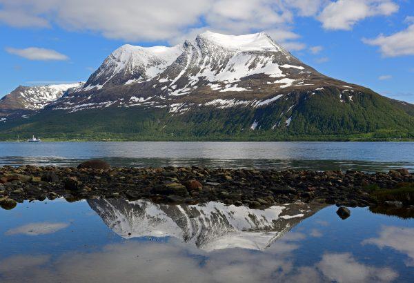 Rund um die Fjorde nahe Tromsø