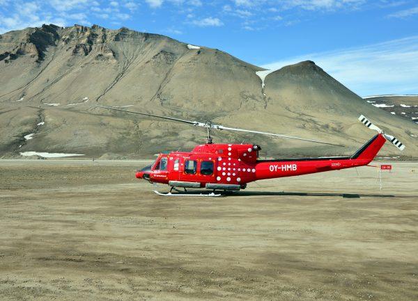 Air Greenland auf dem Constable Point Airport