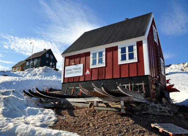 Das Touristenbüro in Ittoqqortoormiit