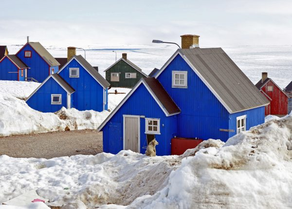 Wenn nur die Häuser blau sind ...