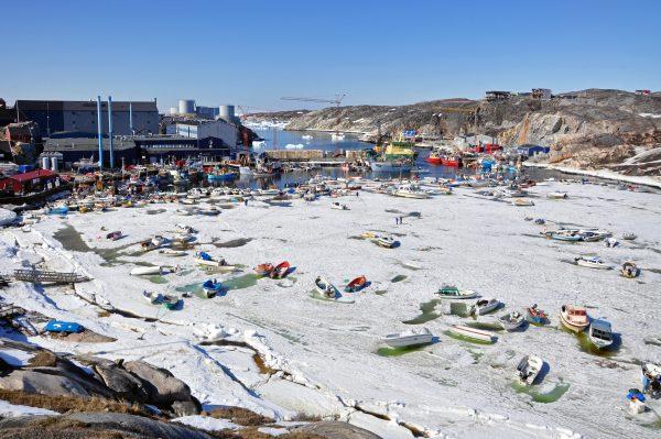Der vereiste Hafen von Ilulissat