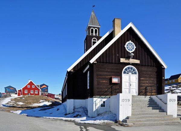 Die Zions-Kirche von Ilulissat