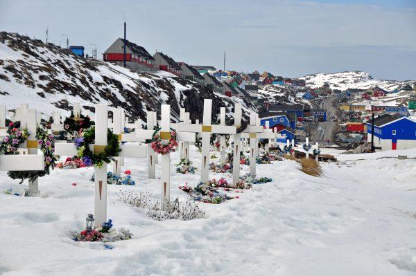 Der Friedhof von Aasiaat