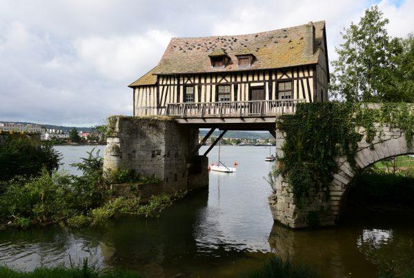 Die alte Mühle (Le Vieux Moulin) in Vernon