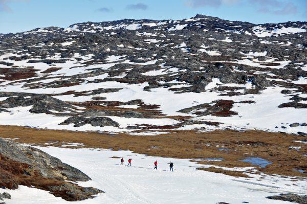 Auf dem Weg zum Eisfjord in Ilulissat