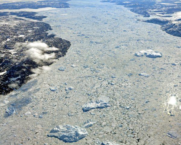 Abschied vom Ilulissat Eisfjord