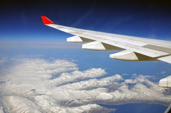 Mit Air Greenland über Island