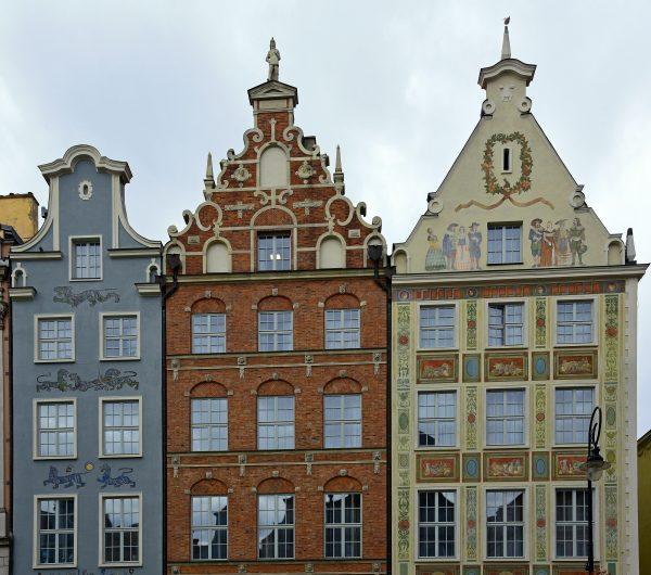 Häuser in der Altstadt von Danzig