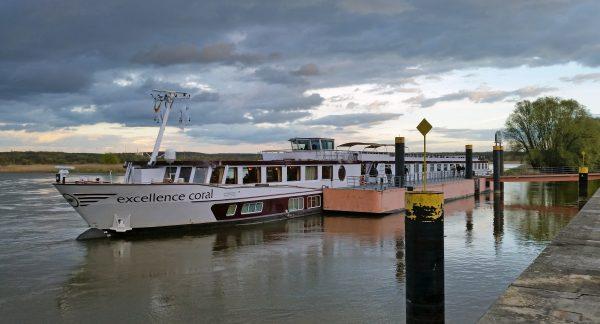 Die MS Excellence Coral in Frankfurt an der Oder