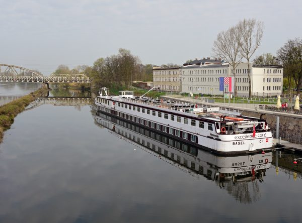 Die MS Excellence Coral in Glogau