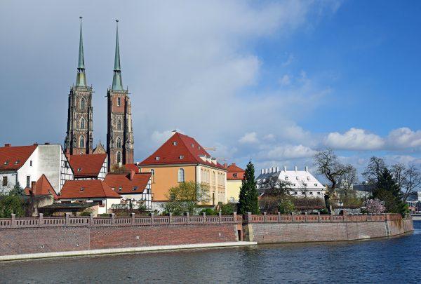 Die Dom-Insel von Breslau