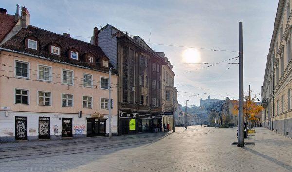 In der Innenstadt von Bratislava
