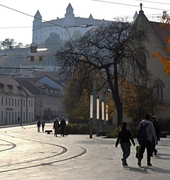 Die Burg Bratislava