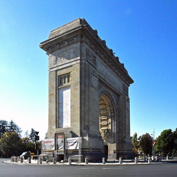 Der Arcul de Triumf in Bukarest