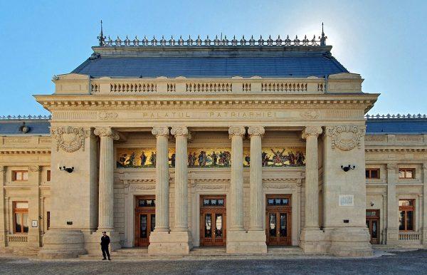 Der Patriarchen-Palast in Bukarest