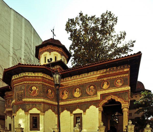 Das Kloster Stavropoleos in Bukarest