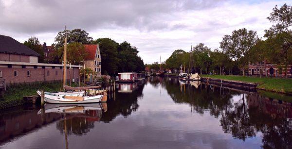 Ein Kanal in Enkhuizen