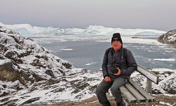 Zinni im Icefjord von Ilulissat