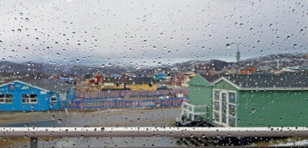 Regen in Ilulissat