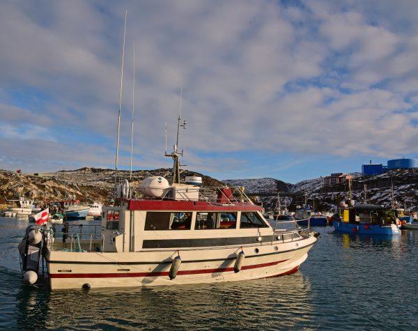 Das Boot Maya vom Café Inuit, Ilulissat