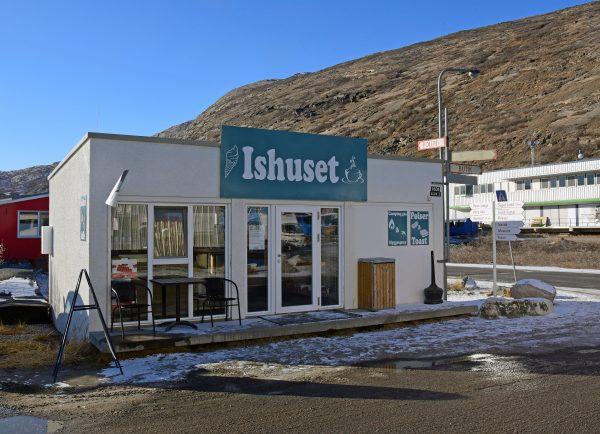 Der neue Eissalon von Kangerlussuaq