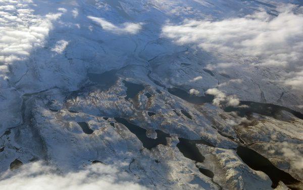 Flug von Kangerlussuaq nach Ilulissat