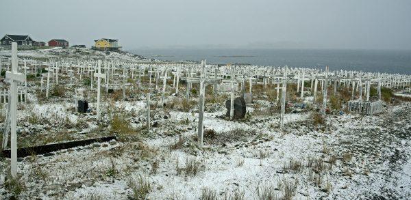 Der Friedhof von Nuuk