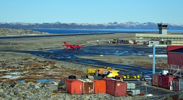 Der Airport von Nuuk
