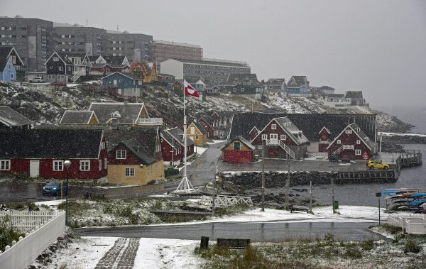 Der alte Hafen von Nuuk