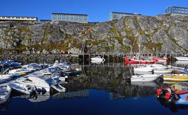 Der Hafen von Nuuk