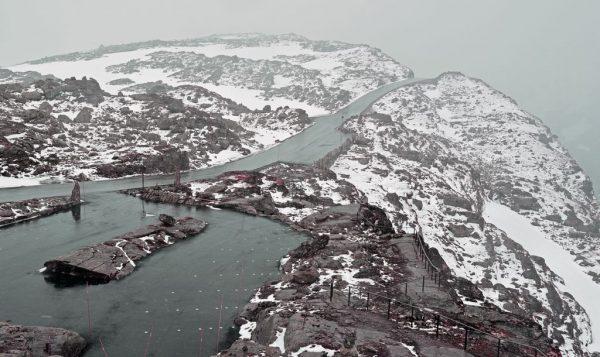 Auf dem Mount Dalsnibba, Norwegen