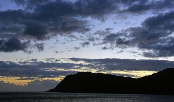 Gute Nacht Geiranger-Fjord, Norwegen