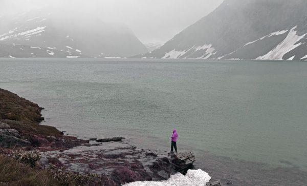 Der Lake Djupvatnet, Norwegen