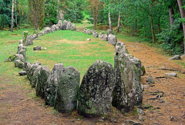 Tjelvars Grab, Schiffssetzung, Gotland