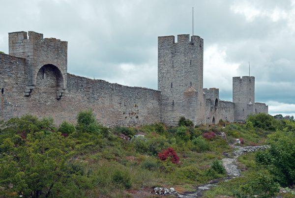 Die Stadtbefestigung von Visby, Gotland