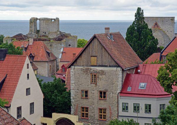 Kirchenruine in Visby, Gotland