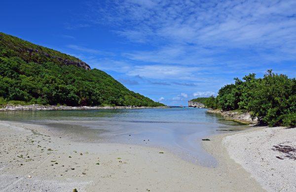 Die Landzunge Grande Vigie in Guadeloupe