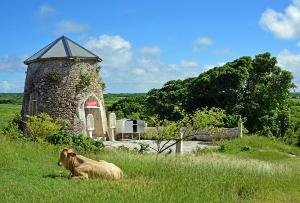 Eine Kapelle in Guadeloupe
