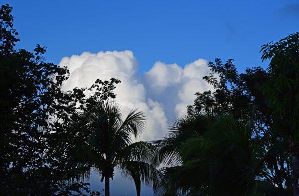 Wolken in Guadeloupe