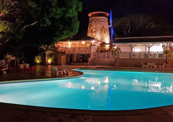 Das Hotel Le Relais du Moulin in Guadeloupe