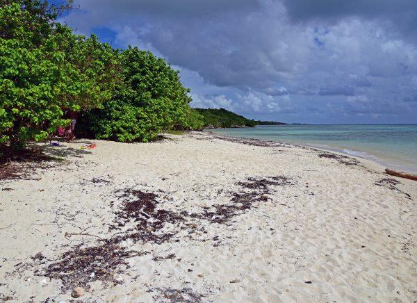 Strände im Osten von Guadeloupe