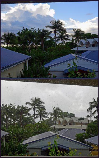 Wetter Kapriolen in Guadeloupe
