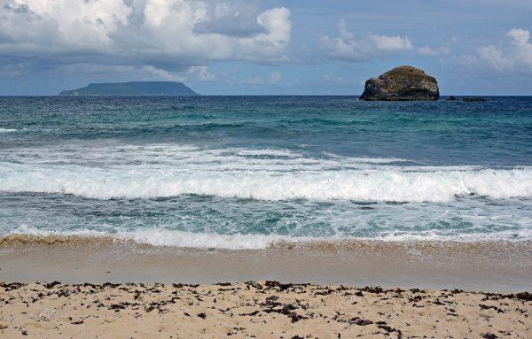 Pointe des Châteaux und La Désirade / Guadeloupe