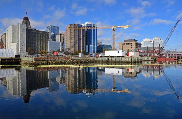 Der Halifax Waterfront Boardwalk