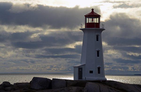Der Leuchtturm von Peggy's Cove