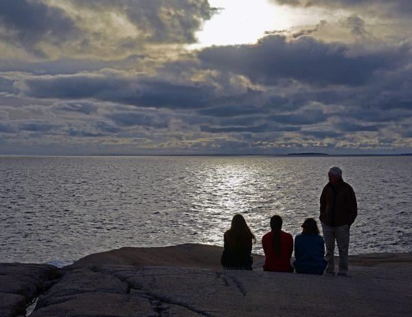 Sonnenuntergang bei Peggy's Cove