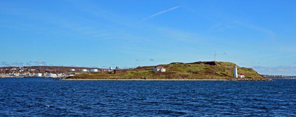 Blick auf die McNabs Insel bei Halifax